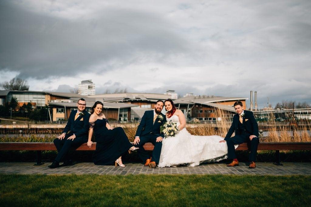 Emily & Joshs Bridal Party in Sunderland