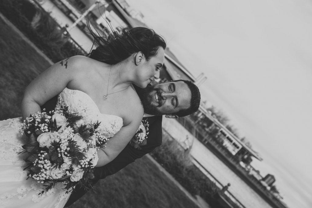 Emily & Joshs wedding photography sunderland