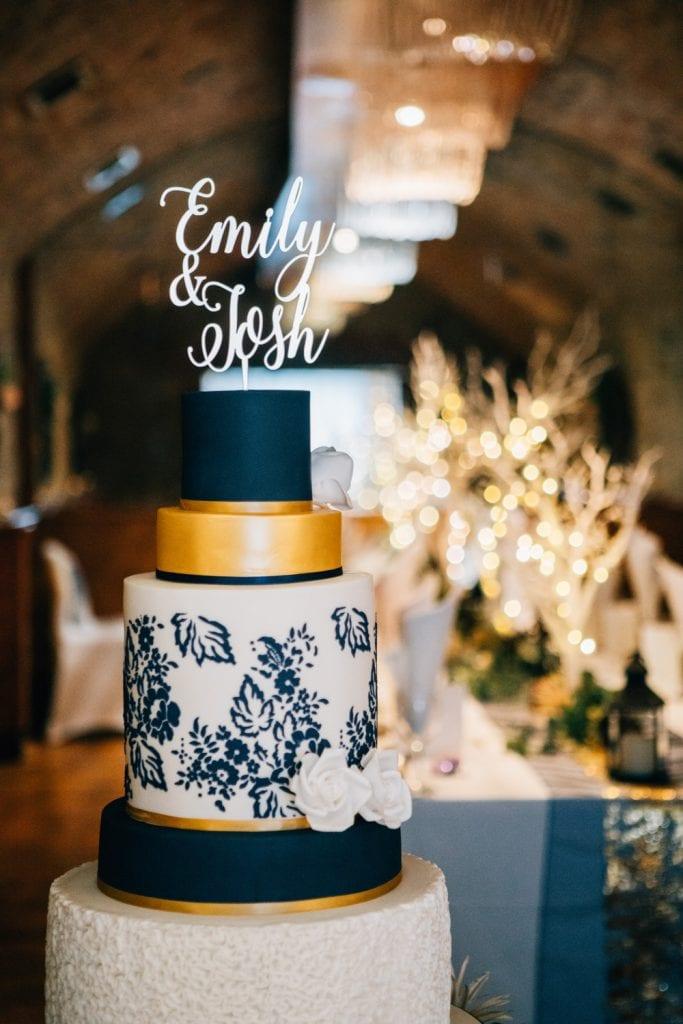 Cake at Quayside Exchange Sunderland Wedding Photography