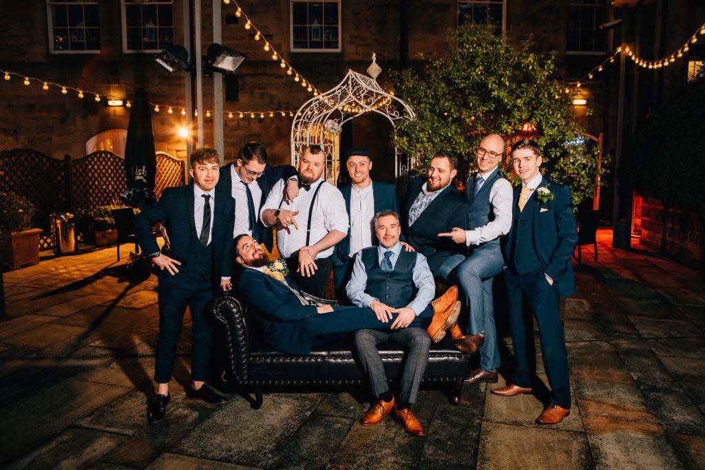 The Boys at Quayside Exchange Sunderland Wedding Photography