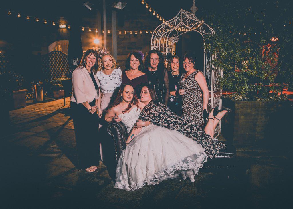 The Girls at Quayside Exchange Sunderland Wedding Photography