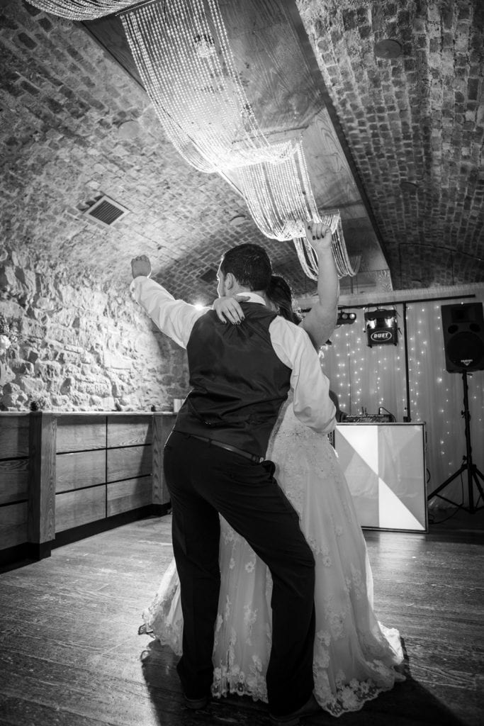 First Dance at Quayside Exchange Sunderland Wedding Photography