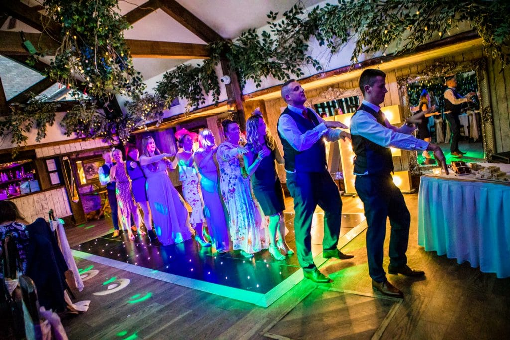Guests at The South Causey Inn Wedding Photographer