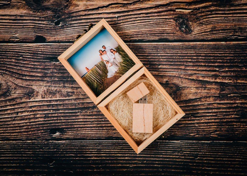 Wedding Photography USB & Pine Box