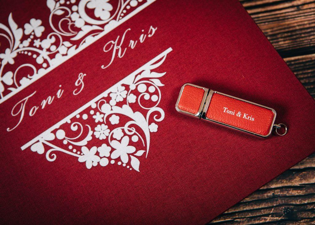 Wedding Album & USB