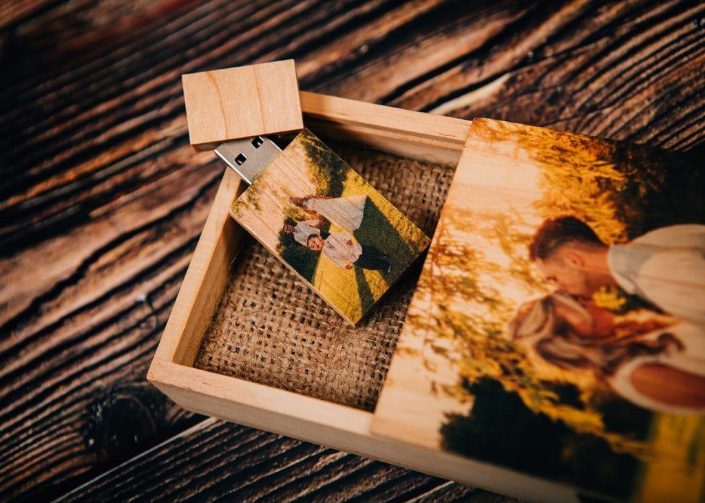 Wedding Photography USB Wooden Presentation Box