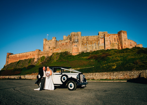 bamburgh castle & doxford hall